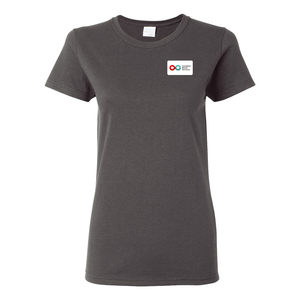 Ladies Short Sleeve T-Shirt - CHARCOAL