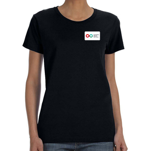 Ladies Short Sleeve T-Shirt - BLACK