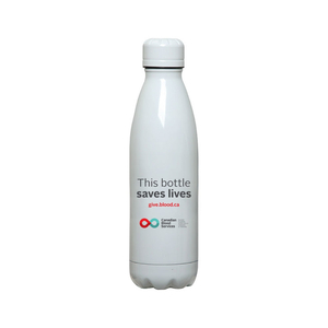 "Bouteille ""This Bottle Saves Lives"""