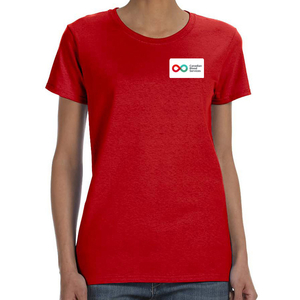 Ladies Short Sleeve T-Shirt - RED